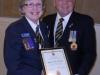 Lynda Henry receiving her Life Membership with Branch No. 088 - 2012