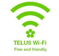 #TELUS wifi free and friendly