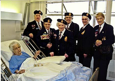 la visit to hospital