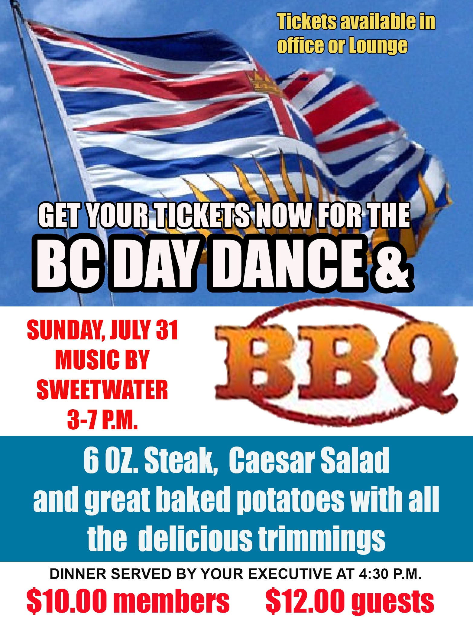 BC Day July 31st, 2016